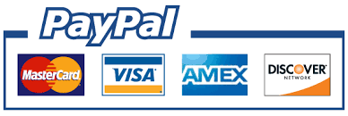 We Accept all mayor credit cards using Paypal! if you don't have a Paypal account it won't matter we will send you an invoice directly to your email address so you can make your payment and if you have any question using paypal please give usa call so we can help you with your transaction.